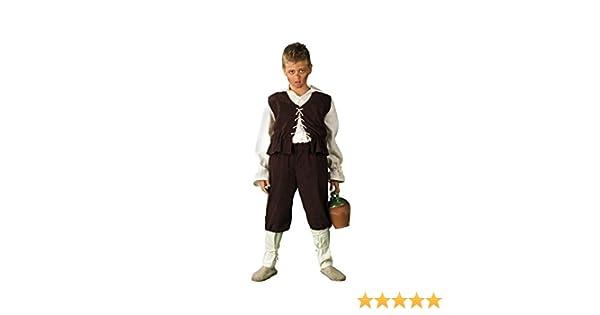 Disfraz de Escudero Medieval para niño: Amazon.es: Juguetes y juegos