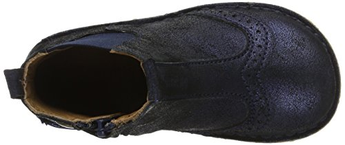 Bisgaard Unisex-Kinder Stiefelette Chelsea Boots Blau (611 Blue)