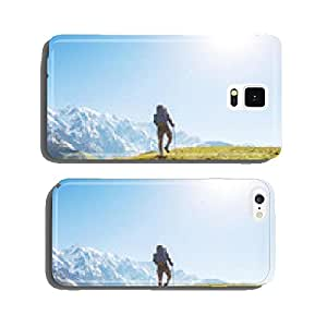 Hike in mountains cell phone cover case Samsung S5