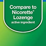 Amazon Basic Care Nicotine Polacrilex Lozenge, 2 mg (nicotine), Stop Smoking Aid, Mint Flavor; quit smoking with mint nicotine lozenge, 144 Count