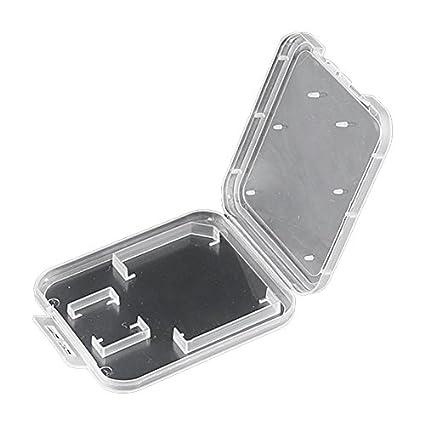 Amazon.com: Pack de 10 Transparente estándar tarjeta de ...