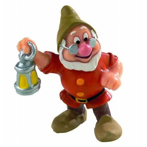 12476 - BULLYLAND - Walt Disney Blanche Neige - Figurine Nain Prof