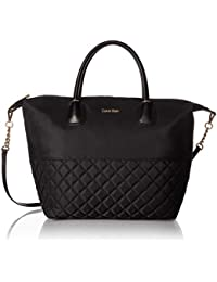 Florence Quilted Nylon Small Top Zip Tote