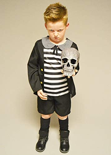 Magic Box Disfraz de Addams Family Pugsley para niños Small 3-4 ...