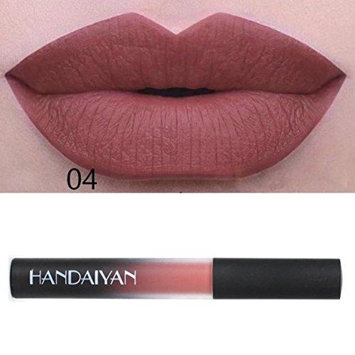 Liquid Lipstick Set Long-Lasting Matte Lip Stick Make Up Wat