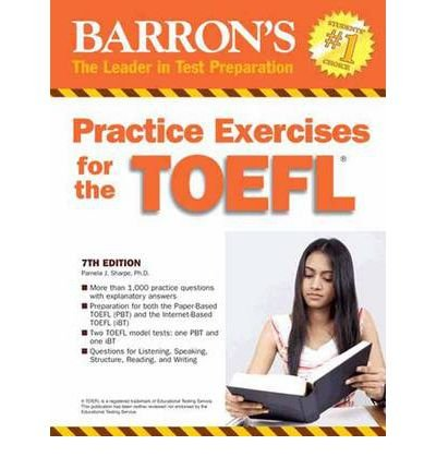 [(Practice Exercises for the TOEFL: 7th Edition)] [Author: Pam Sharpe] published on (August, 2011)