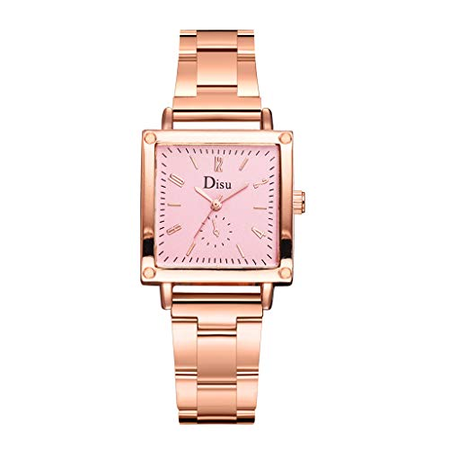 Women's Grant Quartz Stainless Steel and Leather/Mesh Chronograph Watch with Love Knot Bracelet Gift Fashion & LYN Star☪