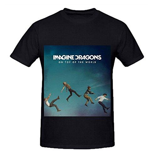 Imagine Dragons On Top Of The World Greatest Hits Album Men Crew Neck Shirt