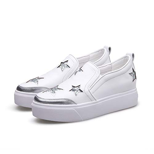 APL11021 Travel Shoes White Mule Urethane Casual Womens BalaMasa Pumps FT0qtvtw