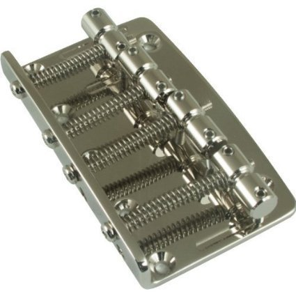 Gotoh Vintage Style Bass Guitar Bridge (4-String) Nickel