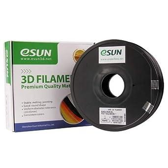 esun 3d impresora filamento Hips 3,00 mm 1 kg negro: Amazon.es ...