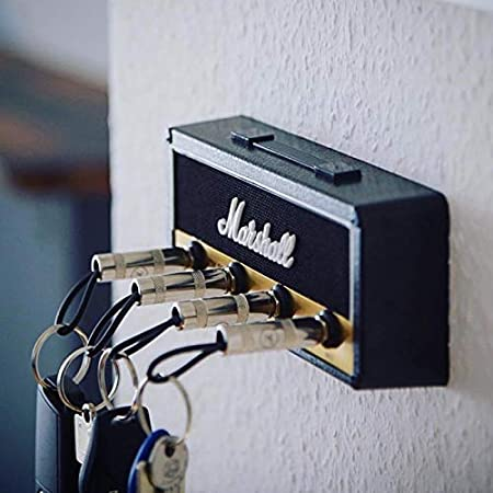 Aaffiry Vintage Guitar Amplifier Key Holder Montaggio a Parete Portachiavi Gancio Portachiavi Chitarra elettrica per Pluginz JCM800 Jack Rack B