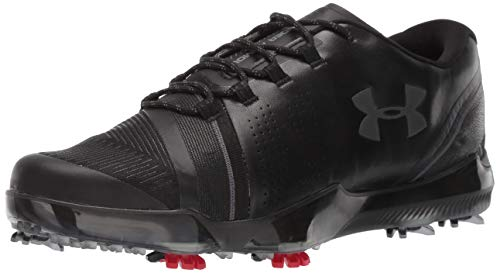 Under Armour Men's Spieth III Golf Shoe, 001/Black, 9.5