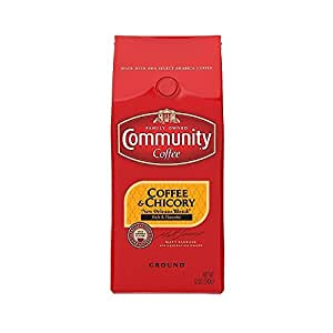 Community Coffee, Coffee and Chicory, 12-Ounce Bags (Pack of 3)