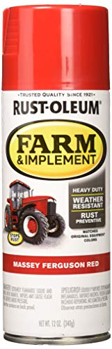 (Rust-Oleum RUSTOLEUM 280134 Massey Ferguson Red 12 oz Farm & Implement Spray Paint)