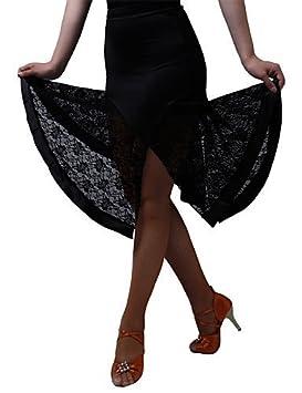 QWG pantalón/vestidos y faldas/Faldas – para mujer – Baile Latino/Jazz