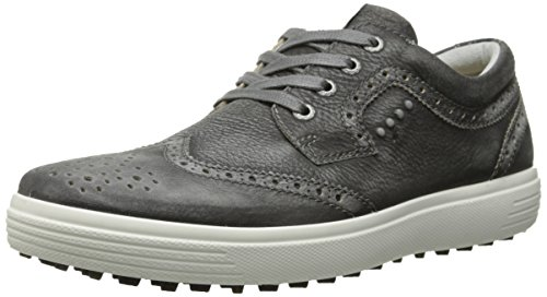 ECCO Men's Casual Hybrid Golf Shoe, Black, 42 EU/8-8.5 M US by ECCO