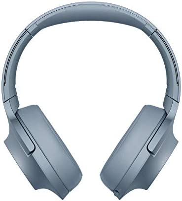 Sony WH-H900N h.Ear Series Wireless Over-Ear Noise Cancelling High Resolution Headphones International Version Seller Warranty Blue