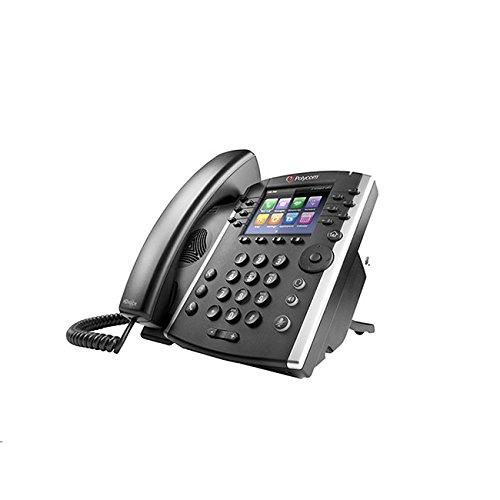 Polycom 2200-46162-025 VVX 410 12-Line IP Phone Gigabit PoE (Power Supply not Included) by Polycom