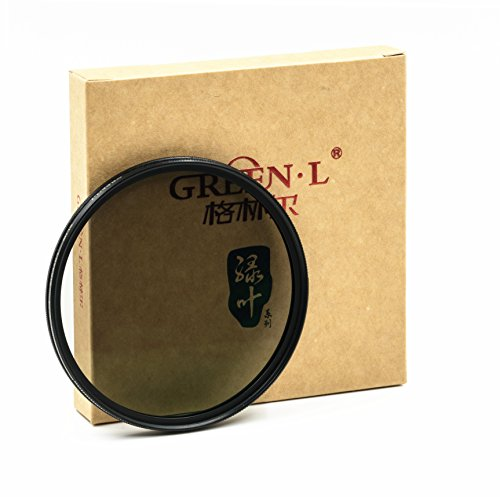 GREEN.L Slim MRC CPL 77mm 16-Layer Multi-Resistant Coated Polarized Filter