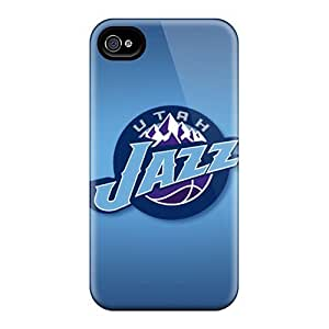 New Diy Design Utah Jazz For iPhone 6 plus 5.5 Cases Comfortable For Lovers And Friends For Christmas Gifts