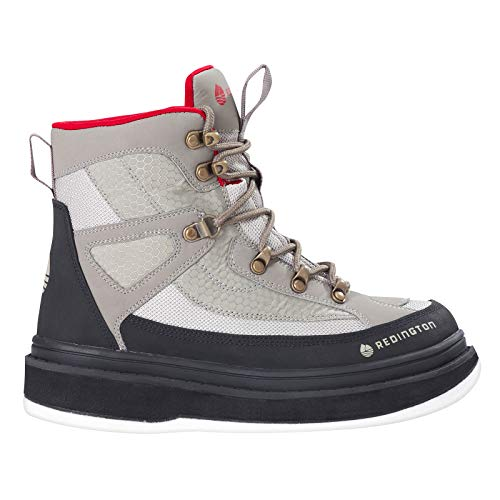 Redington Women's Willow River Felt Bottom Boot - 8, Sand (Felt Boots)
