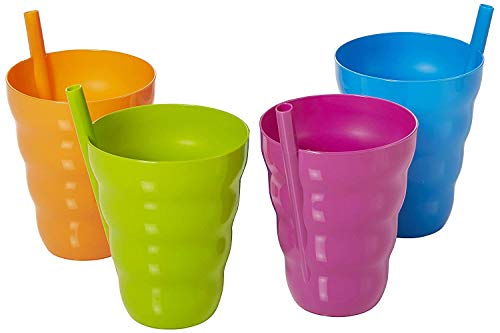 (Arrow Home Products 26344 Sip-a-Cup, 4-Pack, Assorted Colors)