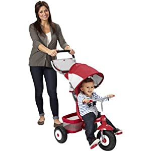 Radio Flyer deluxe all terrain stroll 'n' trike