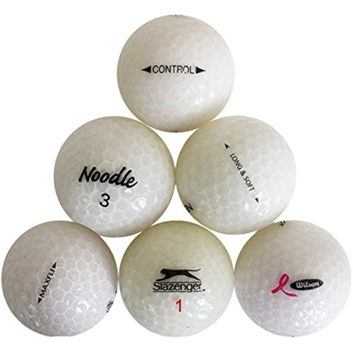 Reload Recycled Golf Balls Crystal Golf Ball (30 Pack), colores surtidos