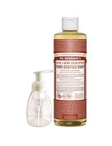 dr-bronners-pure-castile-liquid-soap-eucalyptus-16-oz-with-foam-dispenser-bottle-8-oz