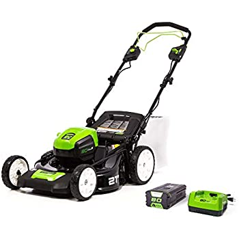 Amazon.com: Greenworks Pro MO80L410 - Cortacésped ...