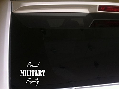 Decal Nationals Family - Proud Military Family 6