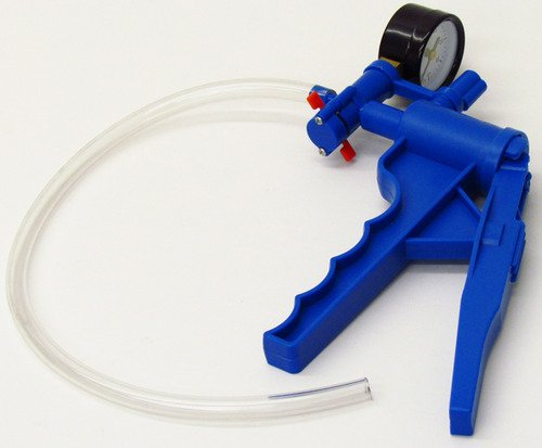 SEOH Vacuum Hand Pump for Filtration with Pressure Gauge by SEOH
