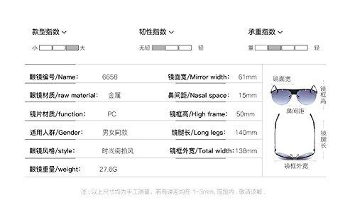 Poudre Bleue lunettes polarisées style de vintage métallique en retro du rond soleil cercle inspirées Lennon fAARwqxO6