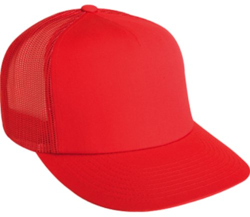 fb1bd65ba63 Flexfit Adjustable Snapback Classic Trucker Hat by 6006 (Red) - Import It  All