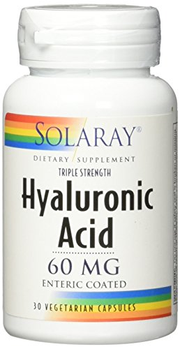 (Solaray Triple Strength Hyaluronic Acid, 60 mg VCapsules, 30 Count )