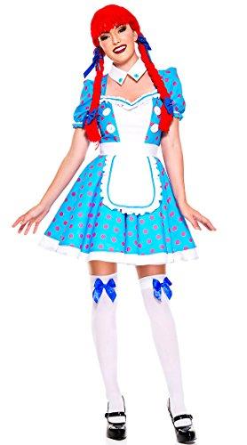 Music Legs Racy Rag Doll (Small/Medium) Adult Racy Rag Doll