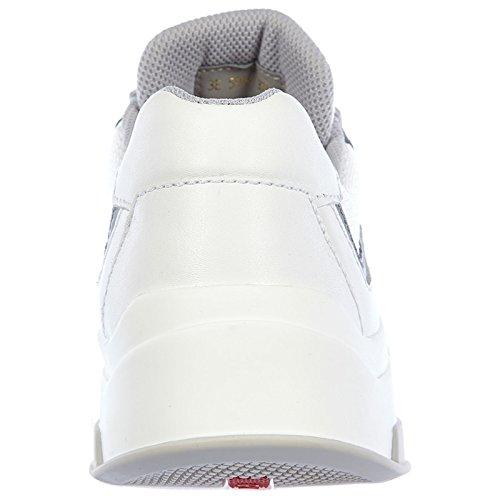 Sneakers Femme Prada Blanc Baskets Chaussures Bike Cuir En Plume xqxwaz7tE