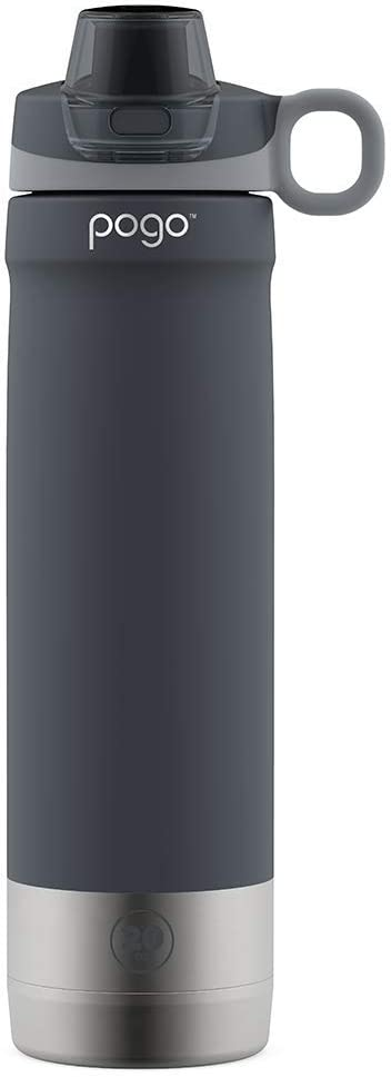 Pogo 20oz Vacuum Insulated Stainless Steel Water Bottle with Chug Lid