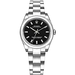 Best Epic Trends 41w5mV5Ab3L._SS300_ Rolex Oyster Perpetual 31 Black Dial Women's Watch 177200