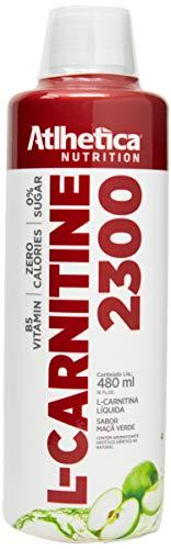 L-carnitine 2300-480ml Maçã Verde - Atlhetica Nutrition, Athletica Nutrition