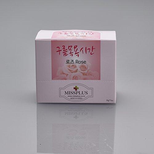 - [MissPlus] Cloud Bath Time – Natural Bubble Bath Powder with 6 Variations: Lavender, Eucalyptus, Phytoncide, Grapefruit, Rose, Basic (Rose, Small - 50g5)