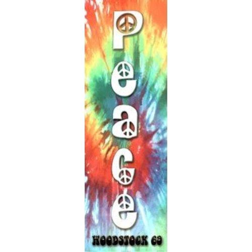 Buyartforless Peace Woodstock 69 36x12 Art Print Poster Wall Decor Peace Sign New York Tie Dye - Peace Small Poster