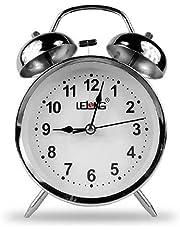 Relógio De Mesa Antigo Despertador Led Retro RELÓGIO DO TIPO ANTIGO METAL