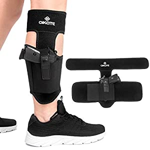 Ankle Holster for Concealed Carry, Leg Carry Pistols Gun Holsters with Magazine Pocket for Glock 19 23 26 27 30 36 42 43, S&W M&P Shield 9, Bodyguard 380, Ruger LCP 380, LC9, Sig Sauer P365 P320 P938