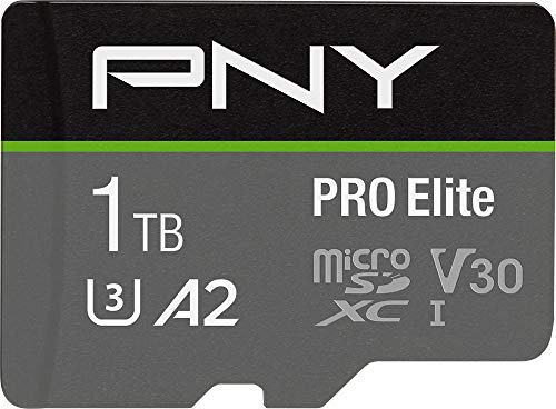 PNY 1TB PRO Elite Class 10 U3 V30 microSDXC Flash Memory Card