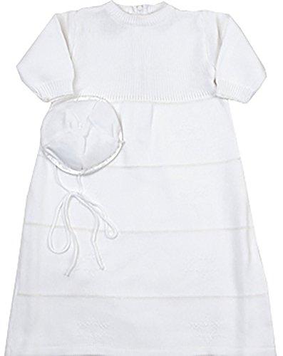 Baby Boy's Circumcision / Bris / Brit Gown with Star of David/Magen David (Newborn) (Designer Christening Gowns)