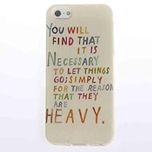 LCJ Heavy Design Soft Case for iPhone 5/5S