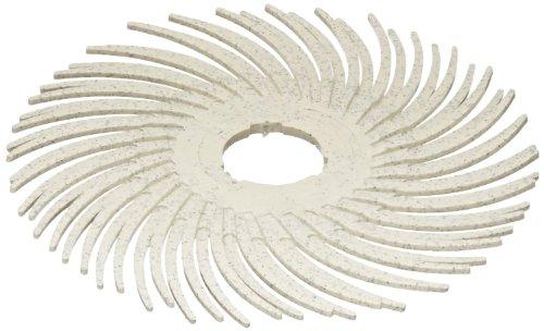 Scotch-Brite(TM) Radial Bristle Disc, 35000 rpm, 9/16 Diameter, Polish 2 Grit, Peach (Pack of 48)