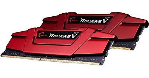 G.SKILL 16GB (2 x 8GB) Ripjaws V Series DDR4 PC4-25600 3200MHz Intel Z170 Platform Desktop Memory F4-3200C16D-16GVRB by G.Skill